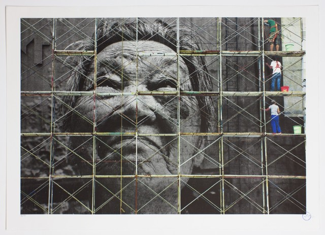 , 'The Wrinkles of the City, Action in Shanghai, Shi Li work in progress, China,' 2010, Danysz Gallery