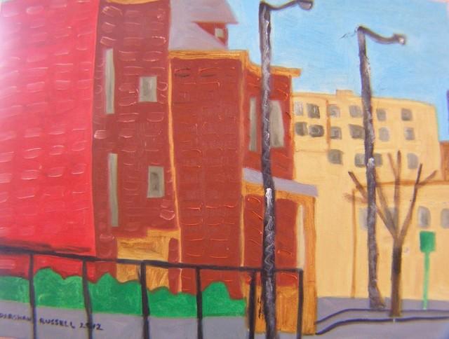 , 'Academy Street Poughkeepsie,' 2012, Carrie Haddad Gallery