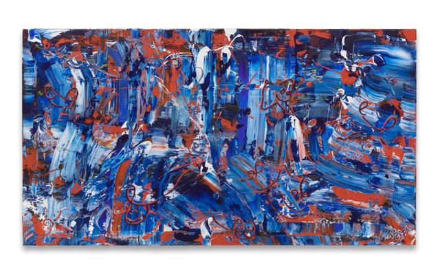 , 'Aqua Bonus,' 2018, Miles McEnery Gallery