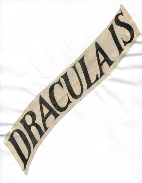 Lorraine O'Grady, 'Dracula Is', 2017, RENÉ SCHMITT