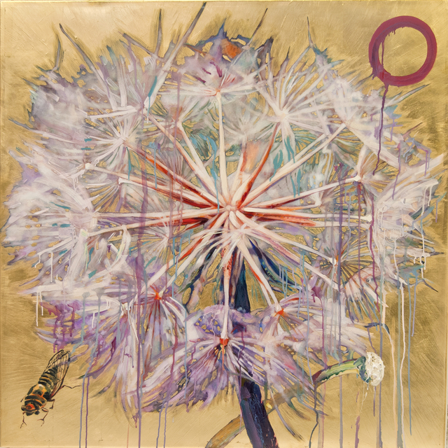 , 'Dandelion with Cicada,' 2016, Turner Carroll Gallery