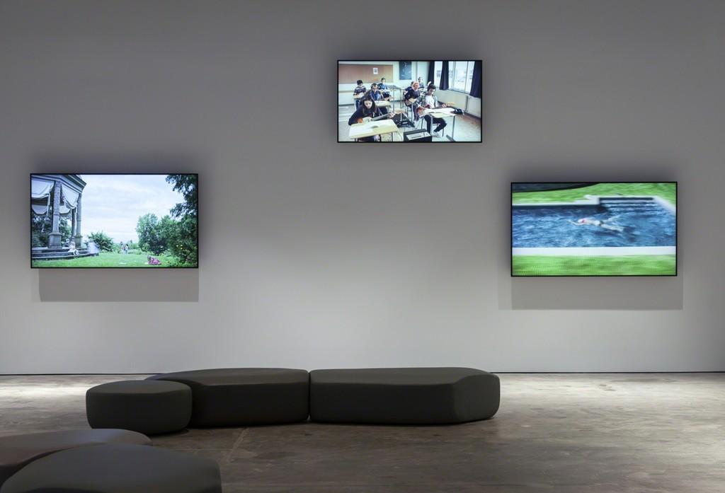 Installation view, Ragnar Kjartansson: Scenes from Western Culture, May 25 – September 01, 2018. © McEvoy Foundation for the Arts / Photo: Henrik Kam