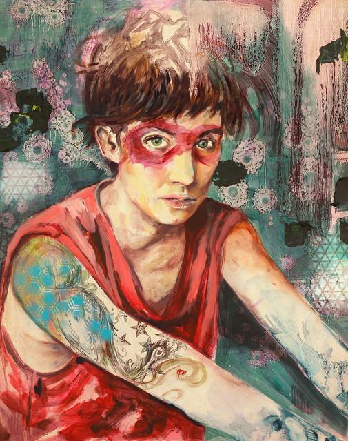 , 'Mascara,' 2016, La Sierra Artist Residency