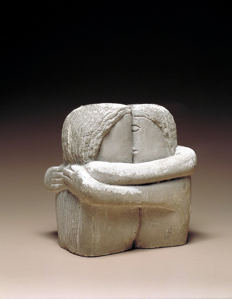 Constantin Brancusi, 'The Kiss (Le Baiser),' 1907-1908, Nasher Sculpture Center