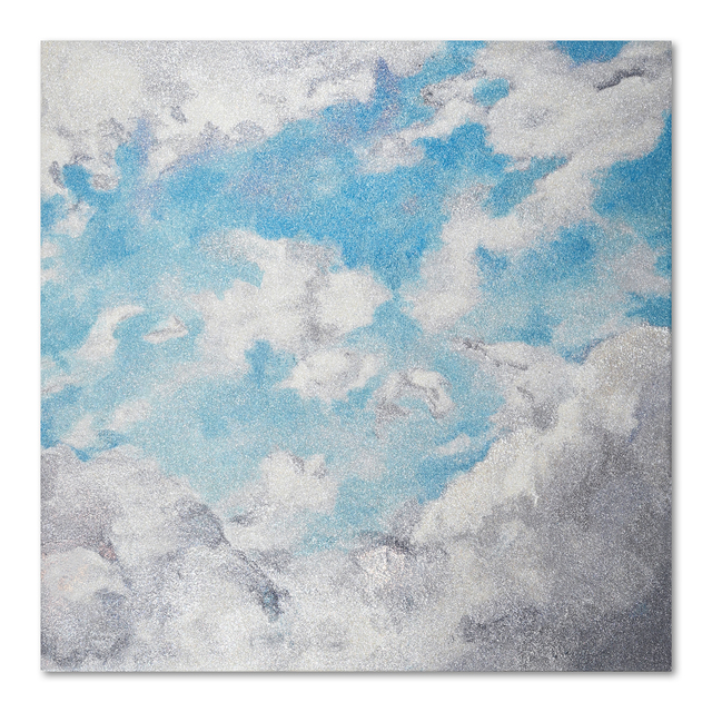 Reuben Paterson, 'E Whiti, e te ra, e Maene ki te Kiri', 2019, Painting, Glitter on canvas, Gow Langsford Gallery