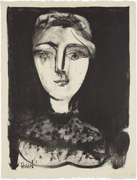 Tête de jeune femme (Head of a Young Woman)