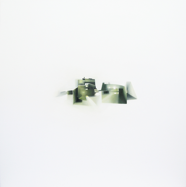 Magalie Comeau, 'Multiples directions de l'espace suspendu', 2010, Painting, Oil on canvas, Art Mûr
