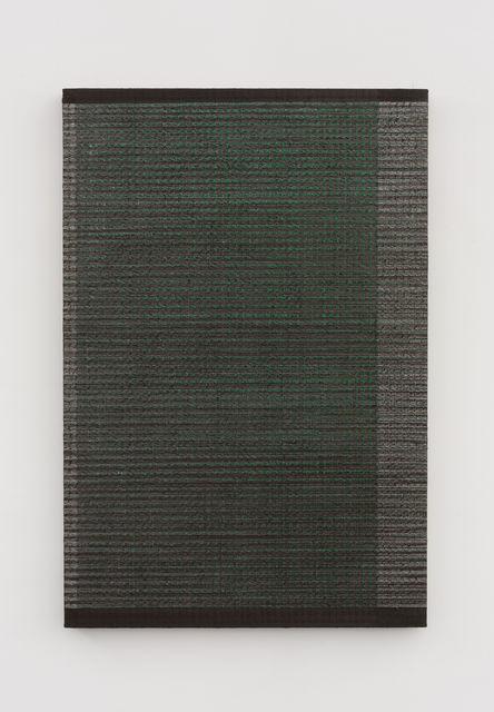 , '两分 - 棕绿 2 Bisect - Brown and Green 2,' 2018, Aye Gallery