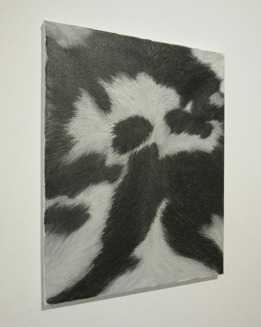 , 'Cowhide (Black),' 2014, Castor Gallery
