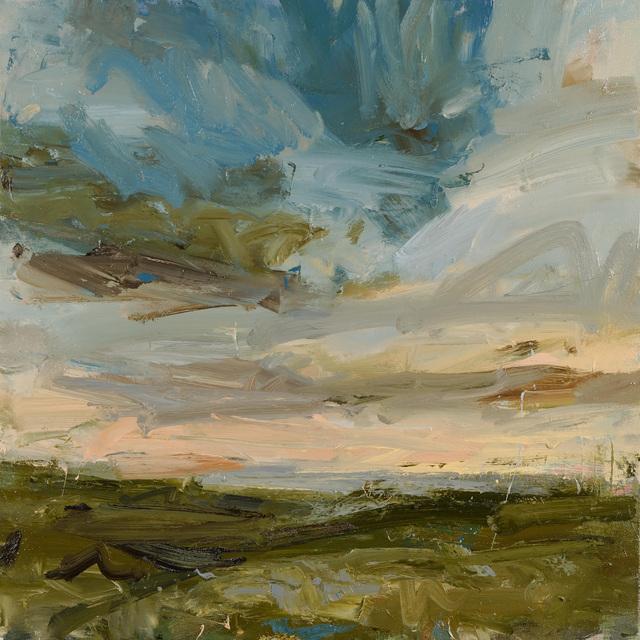 , 'Higher Bojewyan, peachy sky,' 2018, Cadogan Contemporary