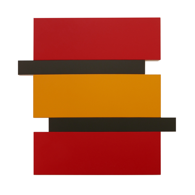 , 'Stack - Red, Yellow, Black,' 2016, Peter Blake Gallery