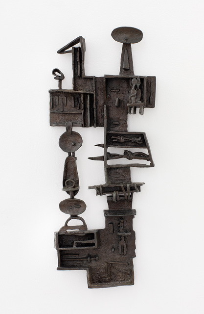 Dorothy Dehner, 'Rites at Sal Safaeni Number 2', 1958, Sculpture, Bronze, Michael Rosenfeld Gallery