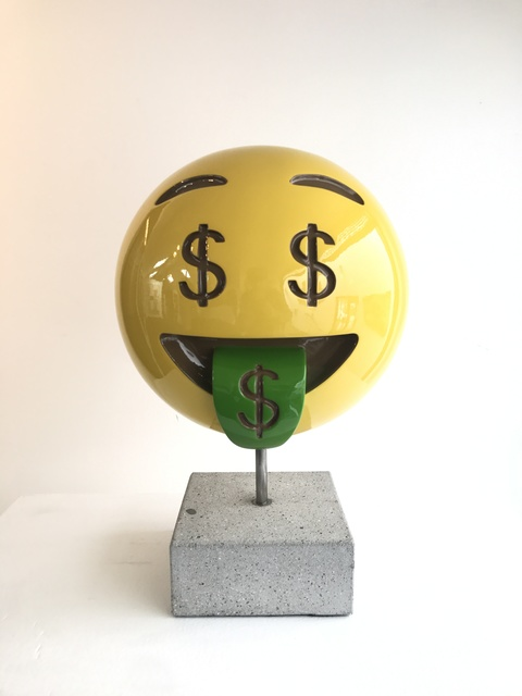, 'Money Face,' 2017, Axiom Contemporary