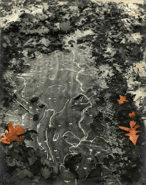 , 'Abstraction (Thin Ice In The Woods),' 1946, Gitterman Gallery