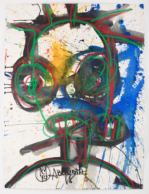 Aboudia, 'Portraits des Nouchis', 2019, Jack Bell Gallery