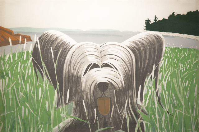 Alex Katz, 'Dog at Ducktrap', 1975-1976, Richard Levy Gallery