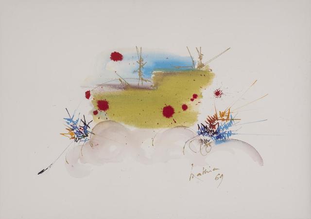 Georges Mathieu, 'Soriniére', 1969, Itineris