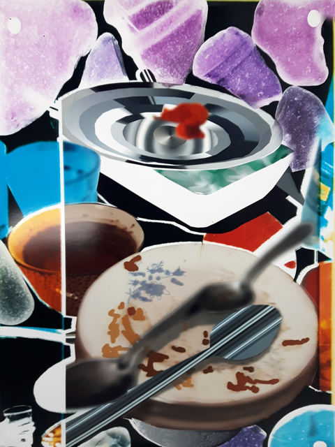 , 'Still life, dirty dishes,' 2017, Galerie Paris-Beijing