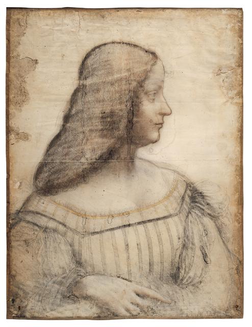 Leonardo da Vinci, 'Portrait d'Isabelle d'Este (Portrait of Isabella d'Este)', 1499-1500, Musée du Louvre