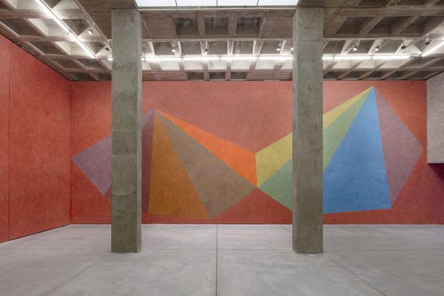 , 'Wall Drawing #509,' 1986, Galería OMR