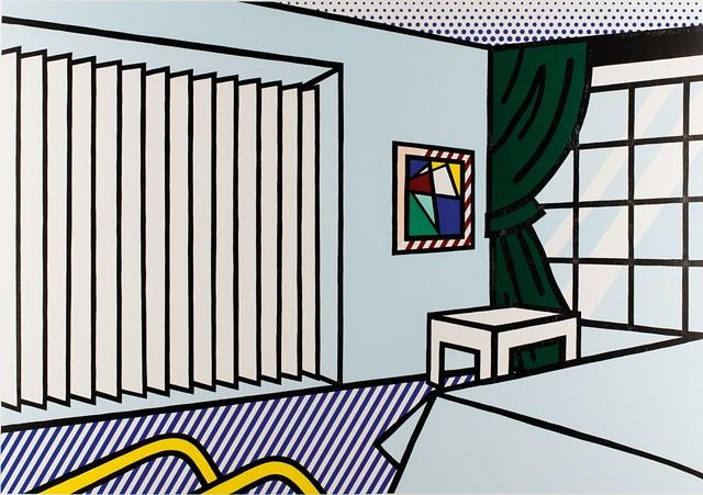 , 'Roy Lichtenstein, Bedroom, from Interior Series, 1990,' 1990, Shapero Modern
