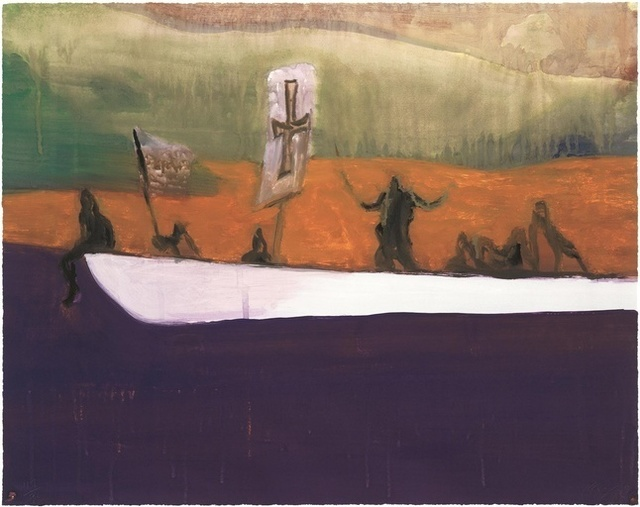 Peter Doig, 'Untitled (Canoe)', 2008, Lougher Contemporary