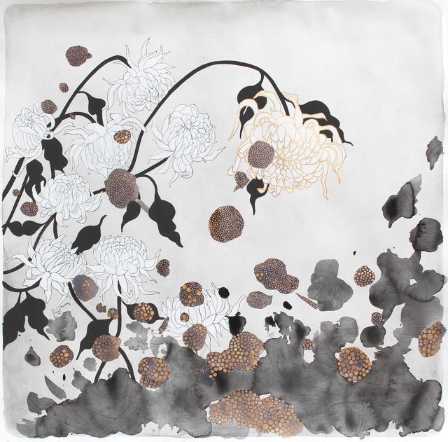 , 'the flowers, 'golden',' 2014, Hosfelt Gallery