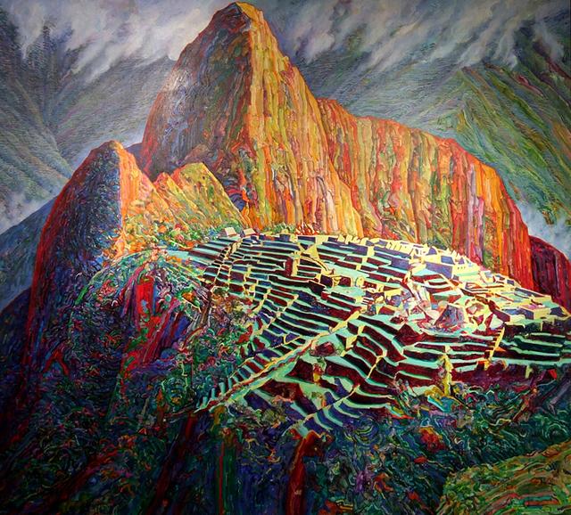 Bill Kohn, 'Ancient City of Light (Machu Picchu)', 1997, Bruno David Gallery