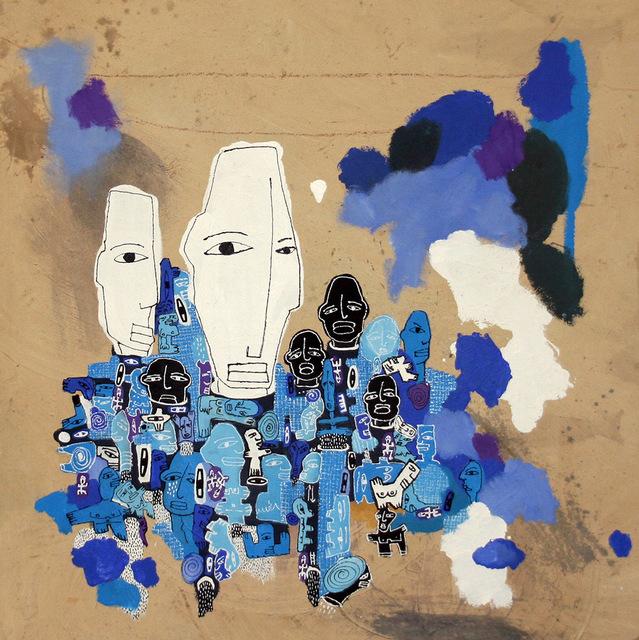 , 'Blues,' 2017, Marlborough Madrid & Barcelona