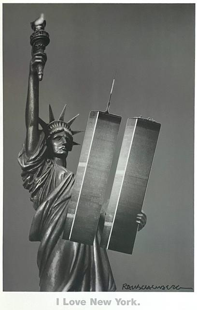 Robert Rauschenberg, 'I Love New York', 2001, Woodward Gallery