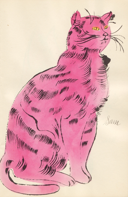 , '(Pink Sam with Yellow Eyes),' ca. 1954, Sims Reed Gallery