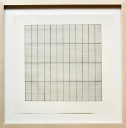 Untitled Lithograph on Vellum, from Stedelijk Museum (Framed)
