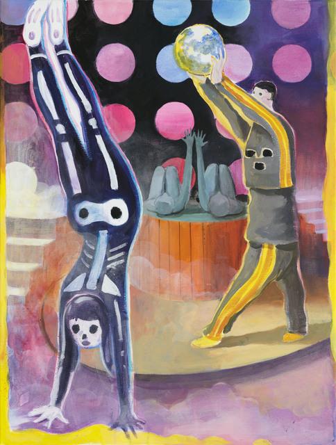 Tilo Baumgärtel, 'Burger around the World', 2015, Galerie Kleindienst