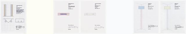 Dan Flavin, 'Fluorescent Light, from portfolio: Forty Are Better Than One', 1992-96/2009, Schellmann Art