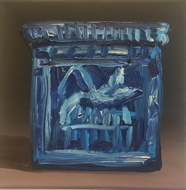 Kajahl, 'Blue Faience Amulet', 2016, Tillou Fine Art