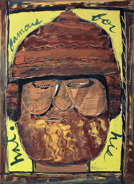Isaiah Zagar, 'Famous for His Hat ', 1984, Philadelphia's Magic Gardens