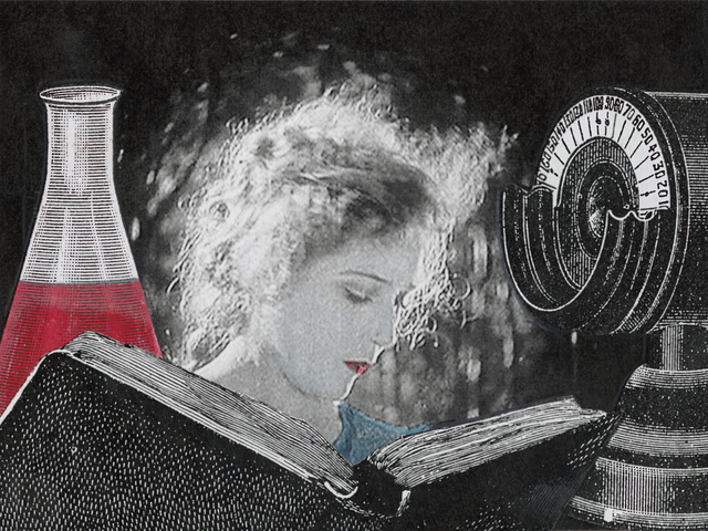 , 'Edge of Alchemy Ed. 10 (woman reading, beaker),' , Robischon Gallery