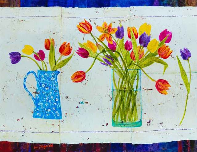 , 'Kaleidoscope of Tulips,' 2018, Catto Gallery