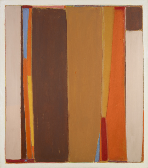 , 'Brown Dominant,' 1968-1970, Berry Campbell Gallery
