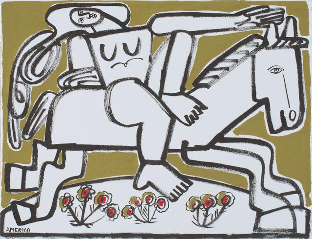 , 'Woman & Running Horse,' 2019, Wally Workman Gallery