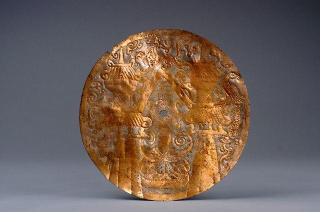 'Medal, inner coffin ornament', 206 BC -220 AD, Musée national des arts asiatiques - Guimet