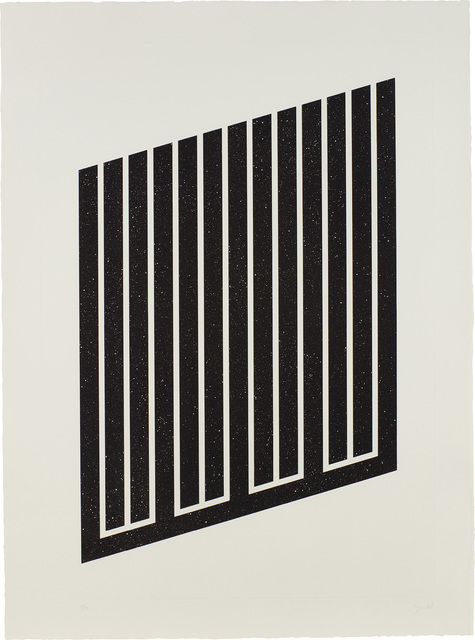 Donald Judd, 'Untitled: one plate (S. 89)', 1978-79, Print, Aquatint, on etching paper, with full margins., Phillips