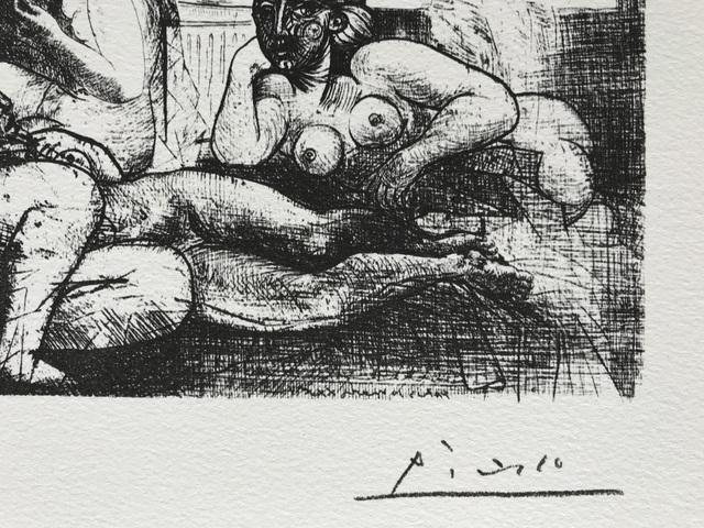 Pablo Picasso, 'Quatre femmes nues et tête sculptée (Suite Vollard Planche LXXXII)', 1973, ByNewArt