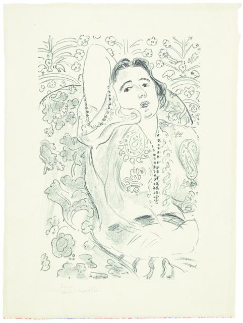 Henri Matisse, 'Arabesque', 1924, Bernard Jacobson Gallery