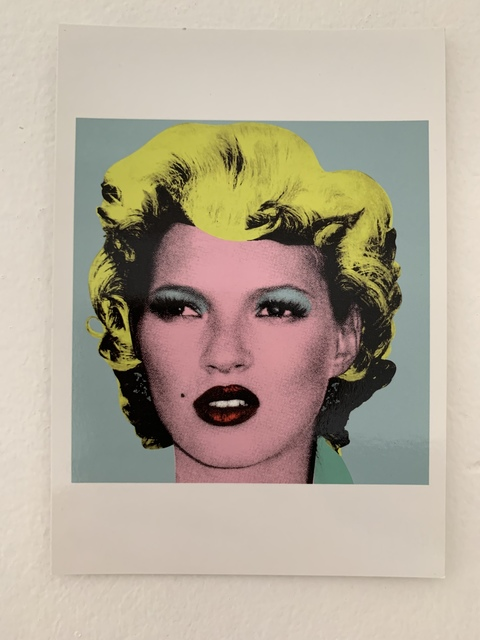 """Banksy, 'BANKSY- """"KATE MOSS POSTCARD, CRUDE OILS INVITE FROM LAZINC WITH PROVENANCE LETTER', 2005, Arts Limited"""