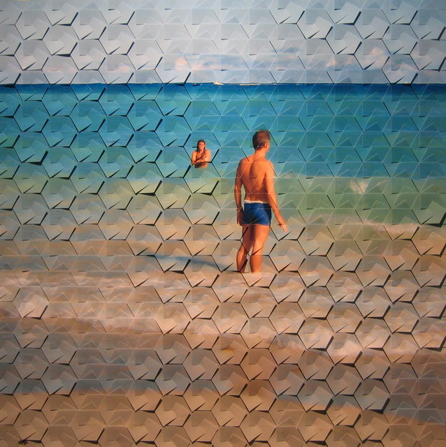 , 'Horizon, Photographic reconstruction, 24 x 24 in, 2009	,' 2009, Pyo Gallery LA