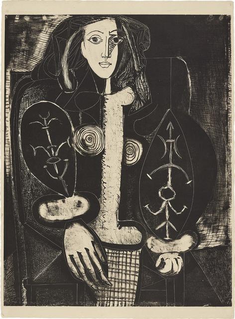 Pablo Picasso, 'Femme au fauteuil No. 1 (d'après le rouge) (Armchair Woman No. 1, from the red)', 1948, Phillips