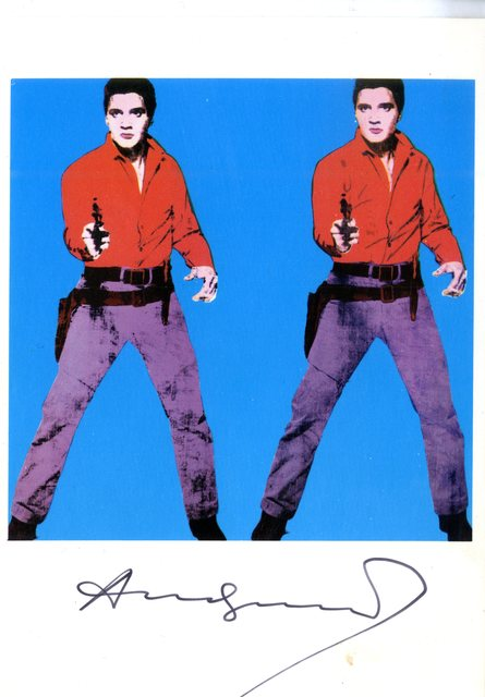 , 'Elvis I (signed with provenance) ,' 1979, Alpha 137 Gallery