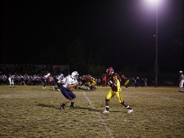 , 'Football Landscape #1 (Fairfax vs. Marshall, Los Angeles, CA),' 2007, Lehmann Maupin