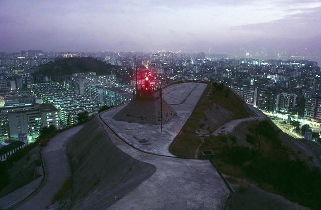, 'Aircraft Beacon, Kowloon,' 1986, Blue Lotus Gallery
